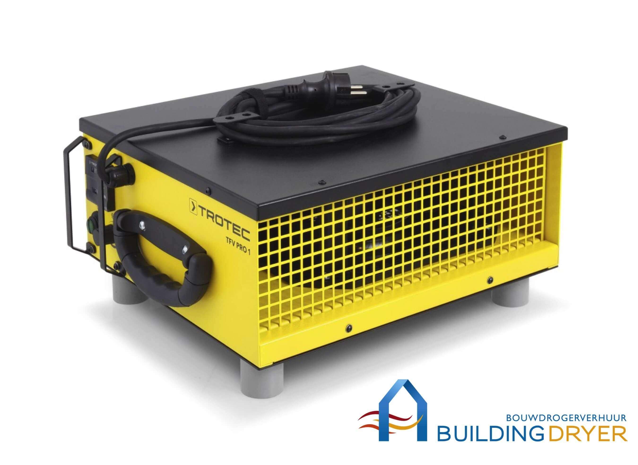 Radiaal Ventilator Trotec TFV Pro 1