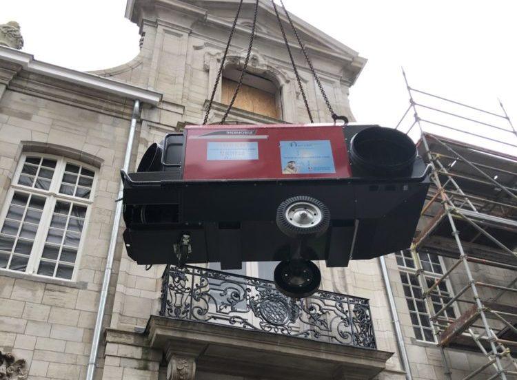 mobiele verwarming huren Antwerpen
