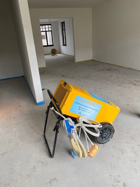 Bouwdrogers huren Turnhout? Building Dryer!